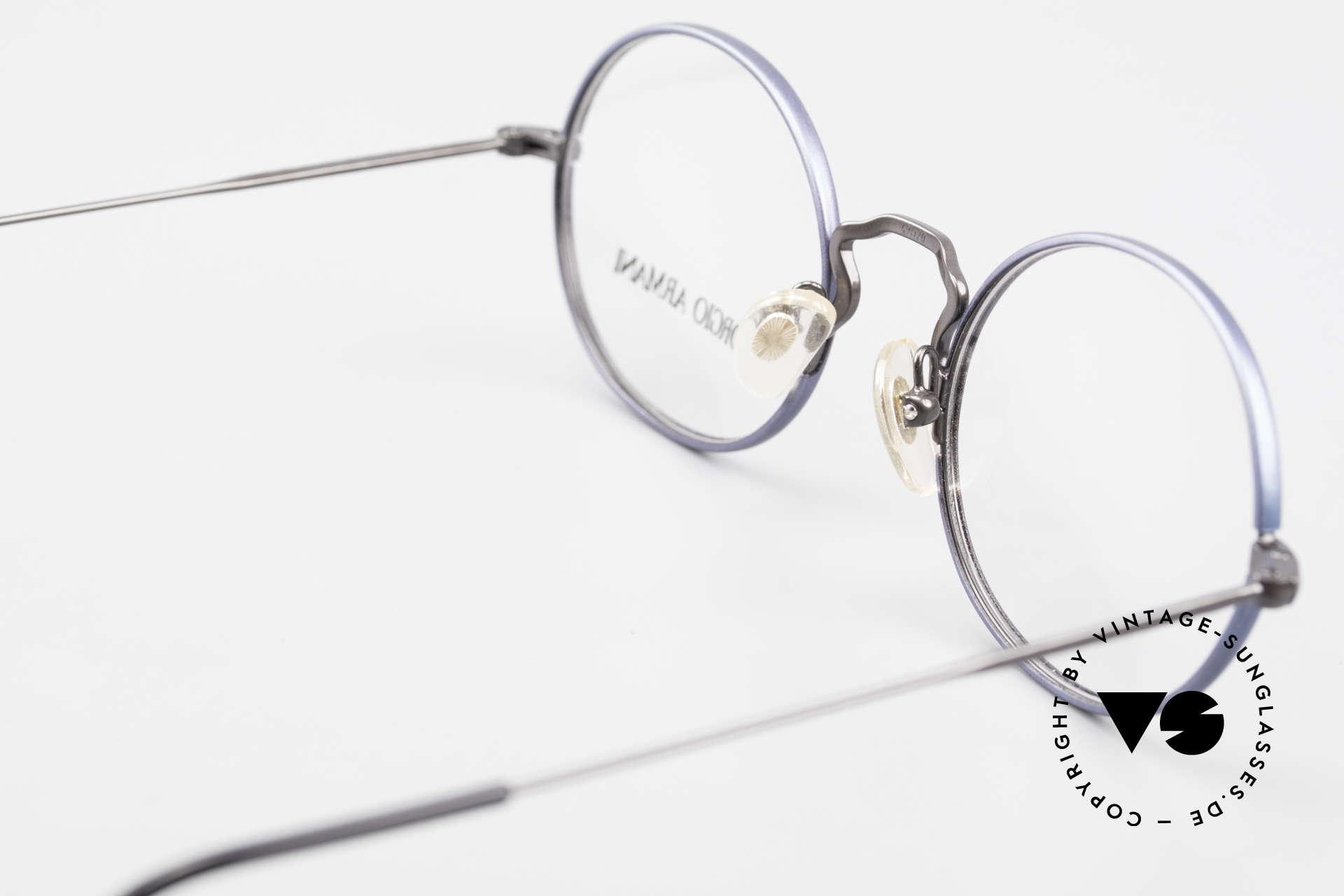 Giorgio Armani 247 No Retro Eyeglasses 90's Oval, frame can be glazed with optical lenses / sun lenses, Made for Men and Women