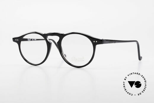 Persol 750 Ratti 80's Vintage Panto Eyeglasses Details