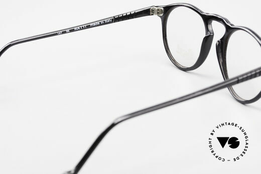 Persol 750 Ratti 80's Vintage Panto Eyeglasses, the frame can be glazed with optical (sun) lenses, Made for Men and Women