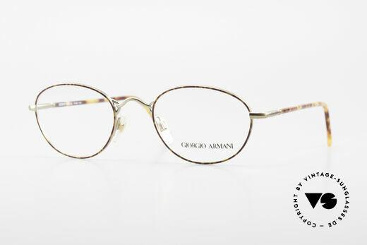 Giorgio Armani 225 Classic Vintage 90's Glasses Details