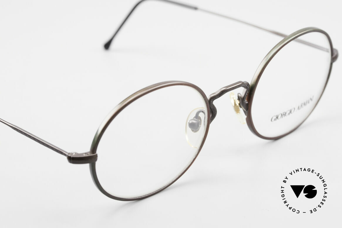 Giorgio Armani 247 Finish Shines Brown And Green, NO RETRO SPECS, but an app. 25 years old Original, Made for Men