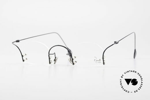 Paul Chiol 2000 Unique Rimless Eyeglasses Details