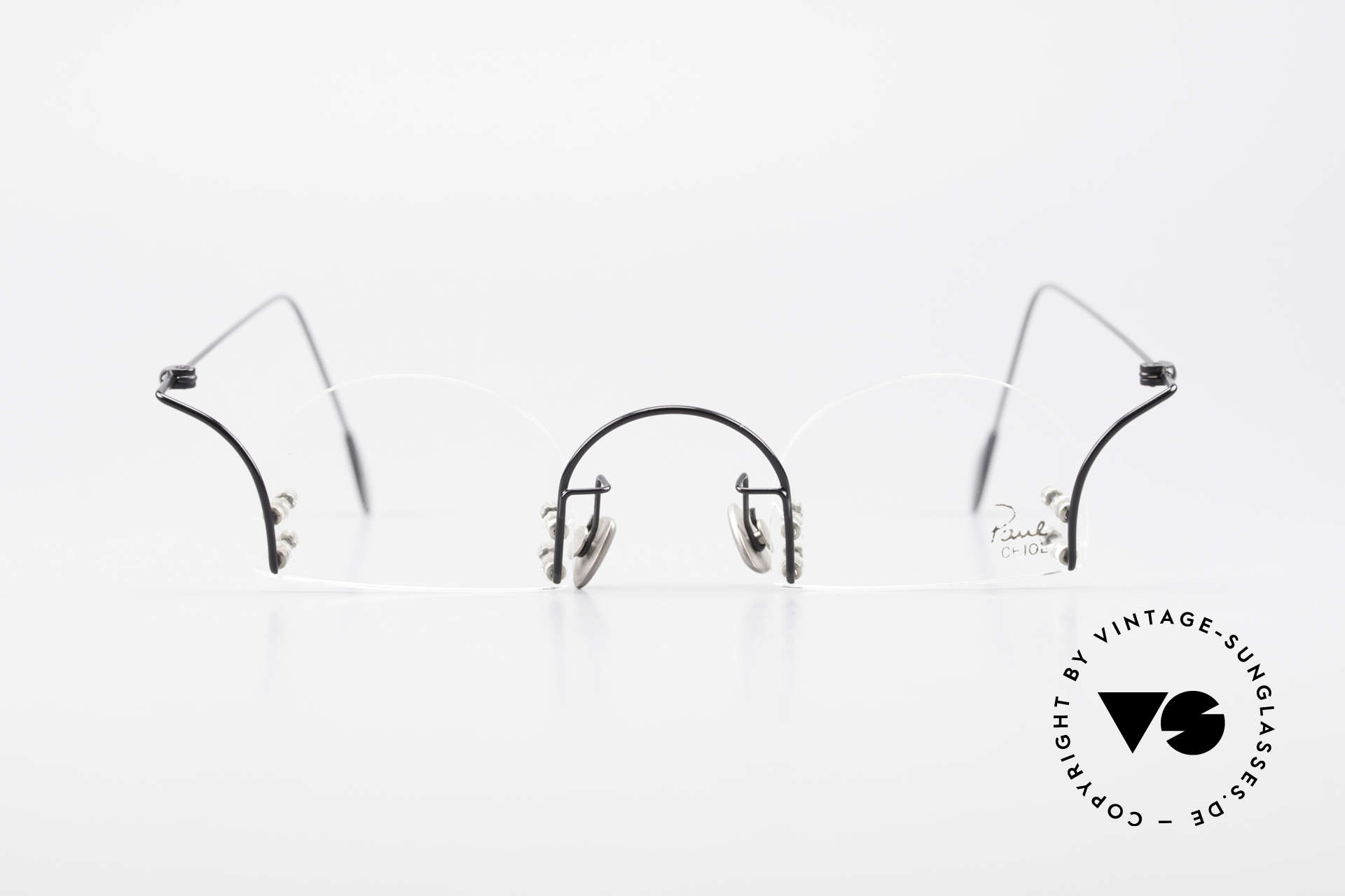 Paul Chiol 2000 Unique Rimless Eyeglasses, a synonym for sophisticated rimless spectacles, Made for Men and Women