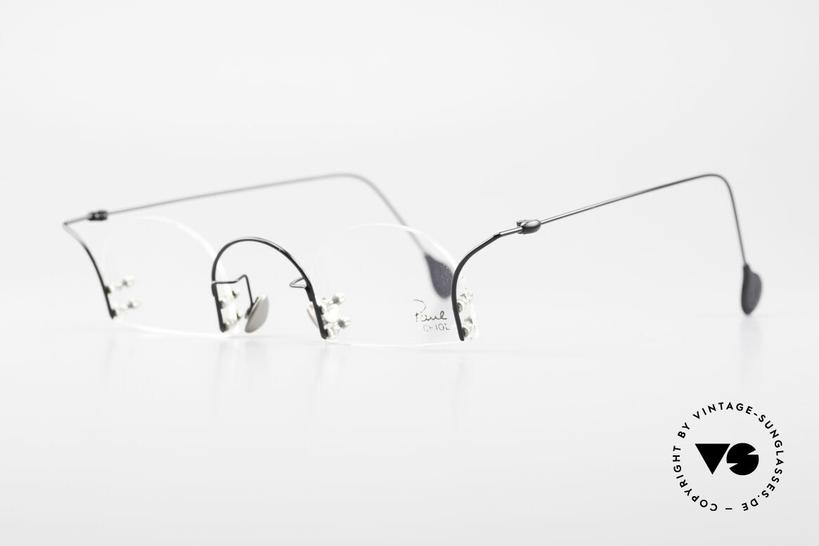Paul Chiol 2000 Unique Rimless Eyeglasses, filigree & cleverly devised design; simply chichi, Made for Men and Women