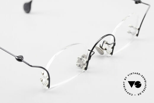 Paul Chiol 2000 Unique Rimless Eyeglasses, your optician can demonstrate his skills, here! ;), Made for Men and Women