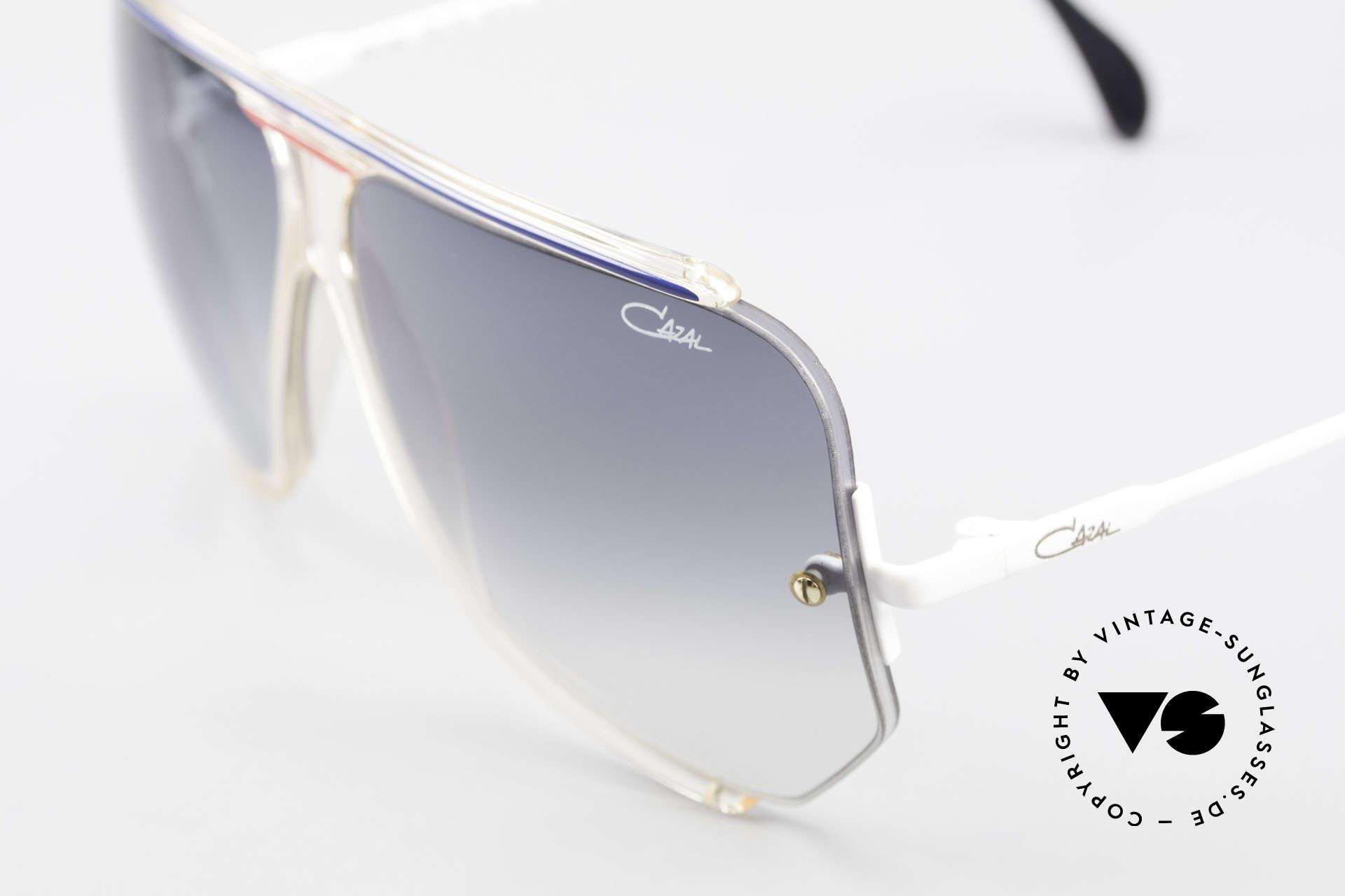 Cazal 850 Old School 80's Sunglasses, Cazals interpretation of the ordinary 'pilots-style', Made for Men