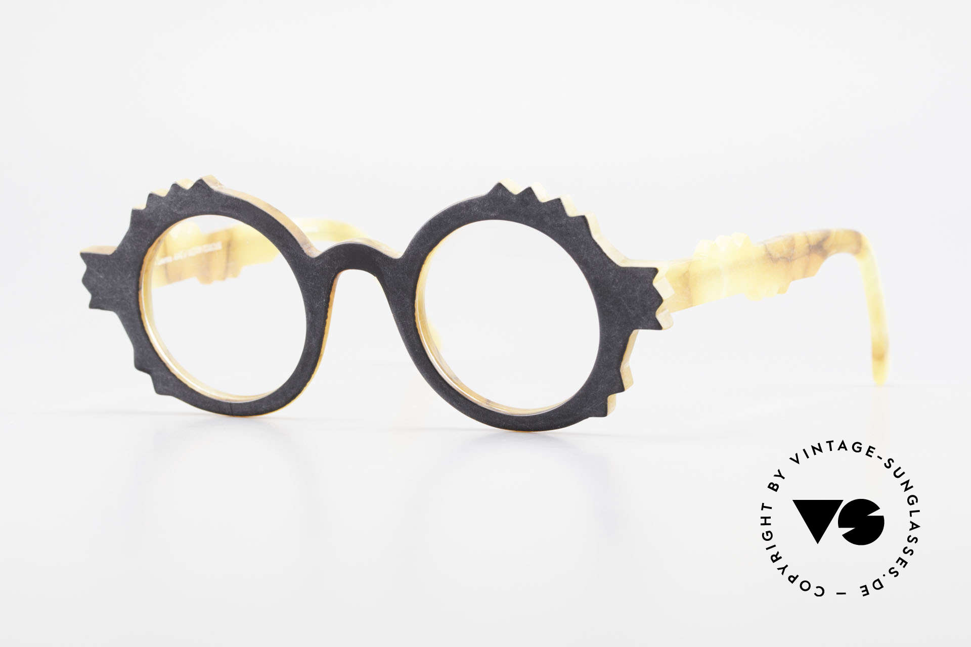 Anne Et Valentin Herrison Elaborate 80's Vintage Glasses, vintage glasses by 'Anne Et Valentin', Toulouse, Made for Women