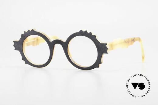 Anne Et Valentin Herrison Elaborate 80's Vintage Glasses Details