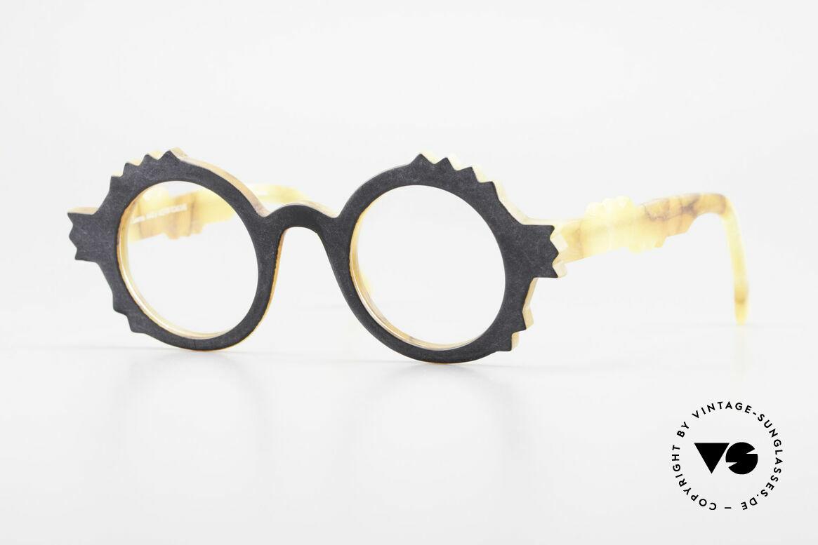 Anne Et Valentin Herrison Elaborate 80's Vintage Glasses