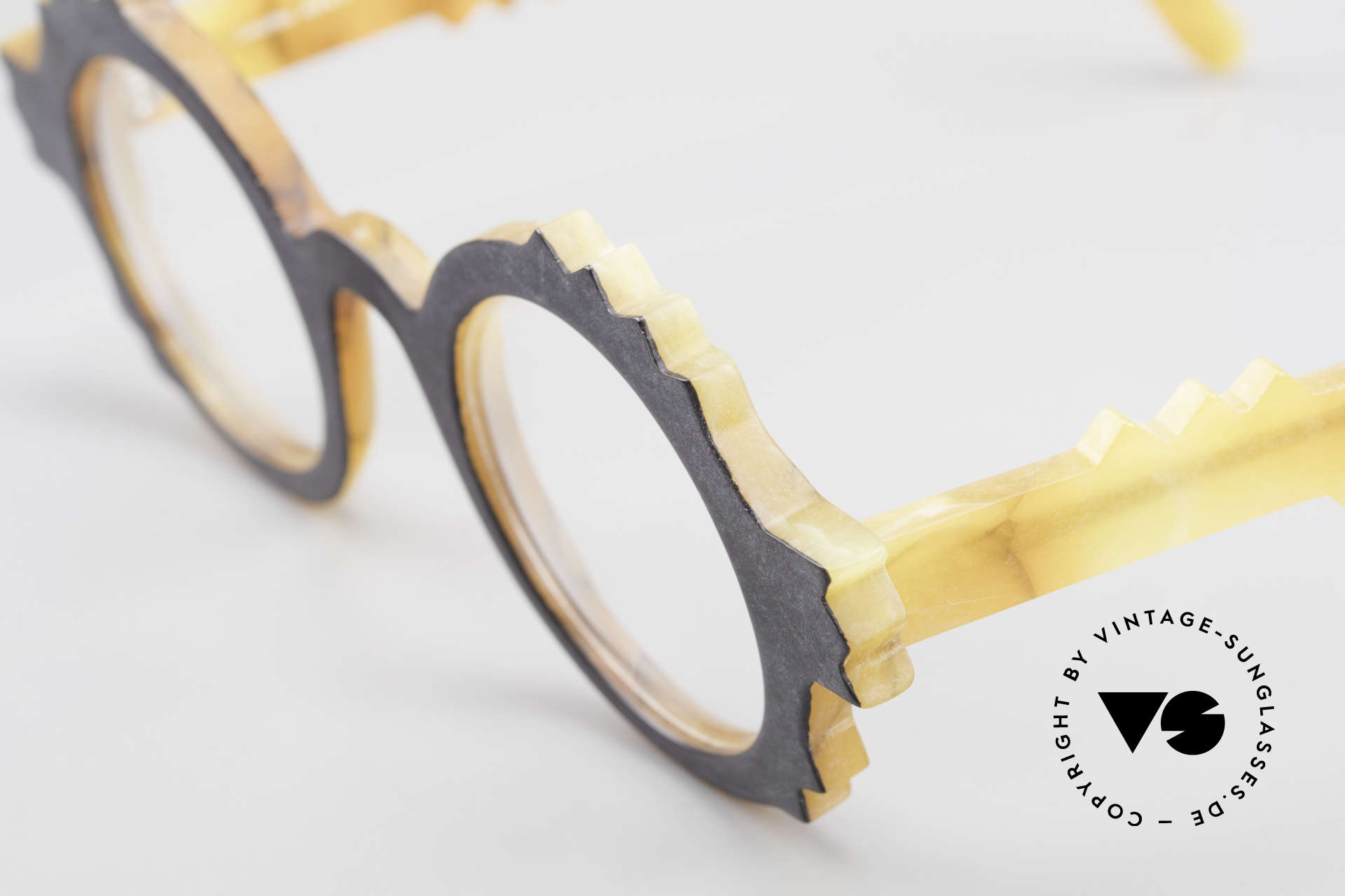 Anne Et Valentin Herrison Elaborate 80's Vintage Glasses, this old model comes from the beginning of A&V, Made for Women