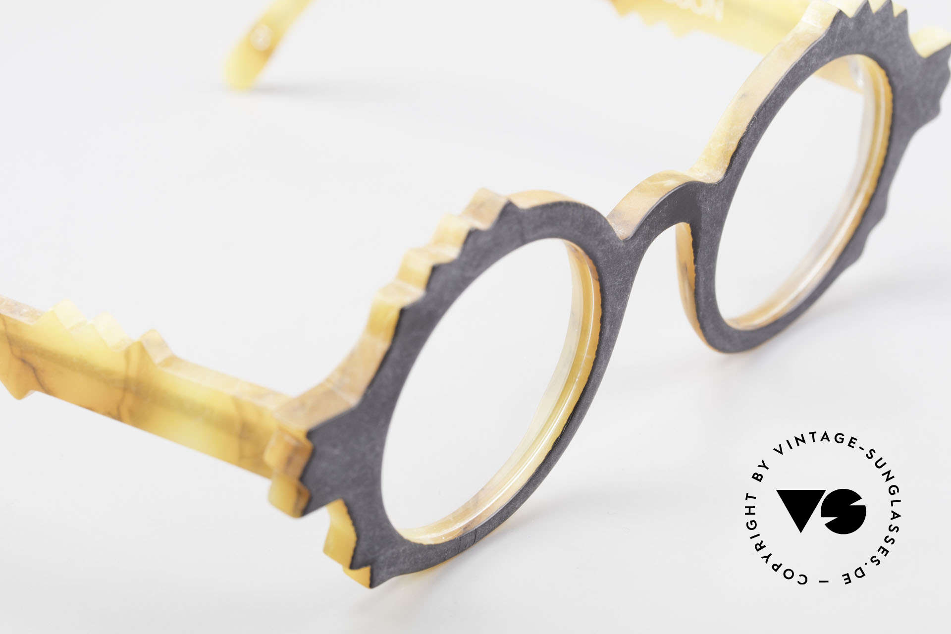 Anne Et Valentin Herrison Elaborate 80's Vintage Glasses, UNWORN, single item, comes with an orig. case, Made for Women