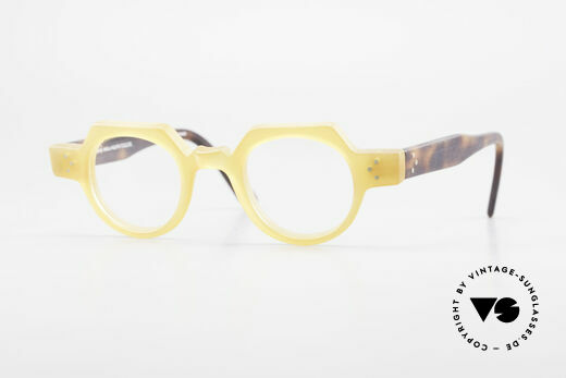 Anne Et Valentin Groucho Old True Vintage 80's Glasses Details