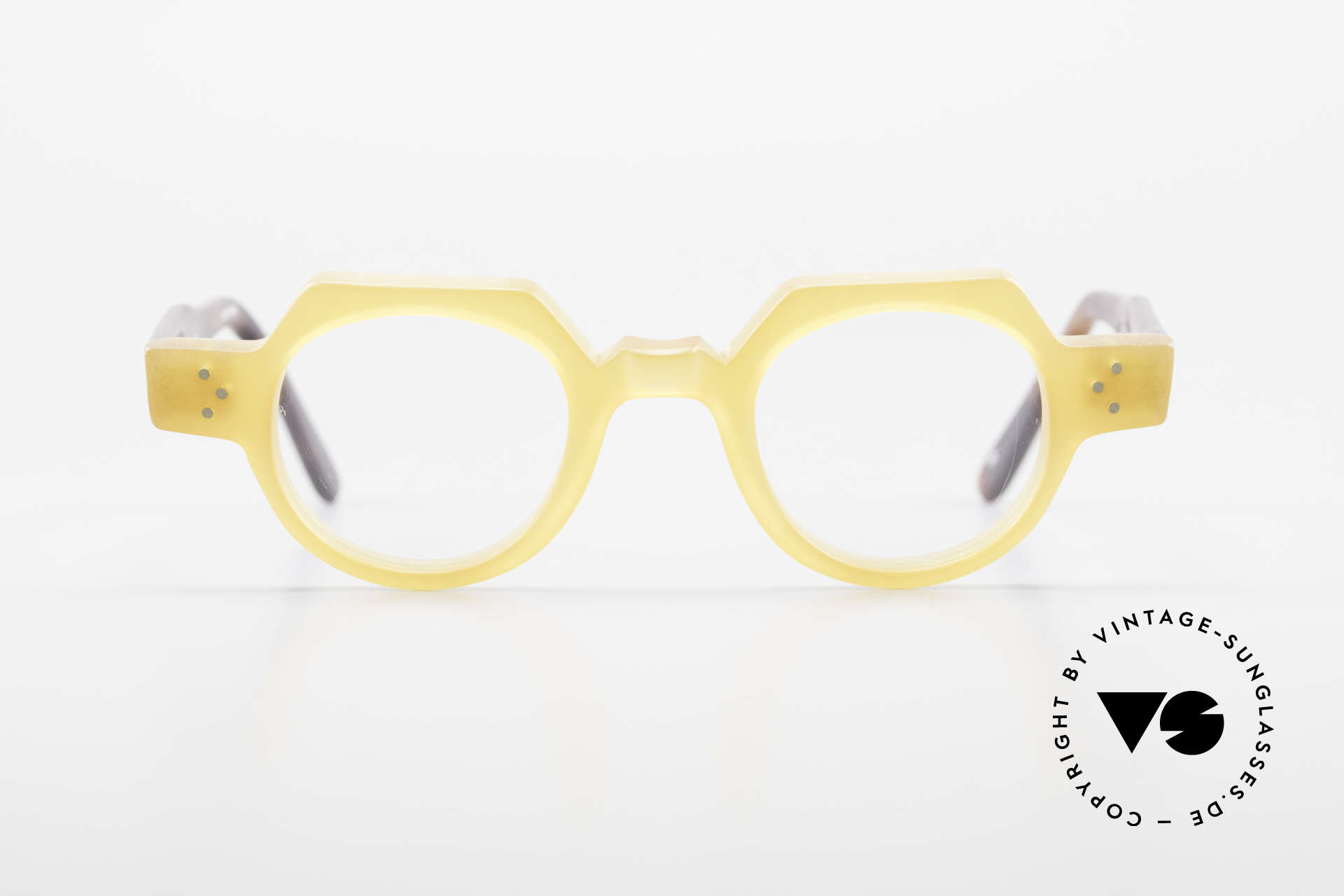 Anne Et Valentin Groucho Old True Vintage 80's Glasses, the couple Anne (artist) and Valentin (optician), Made for Men and Women