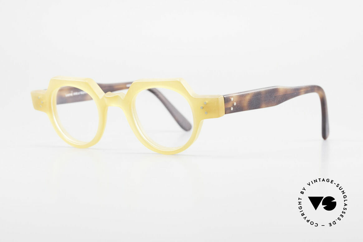 Anne Et Valentin Groucho Old True Vintage 80's Glasses, spent their lives creating their own collection, Made for Men and Women