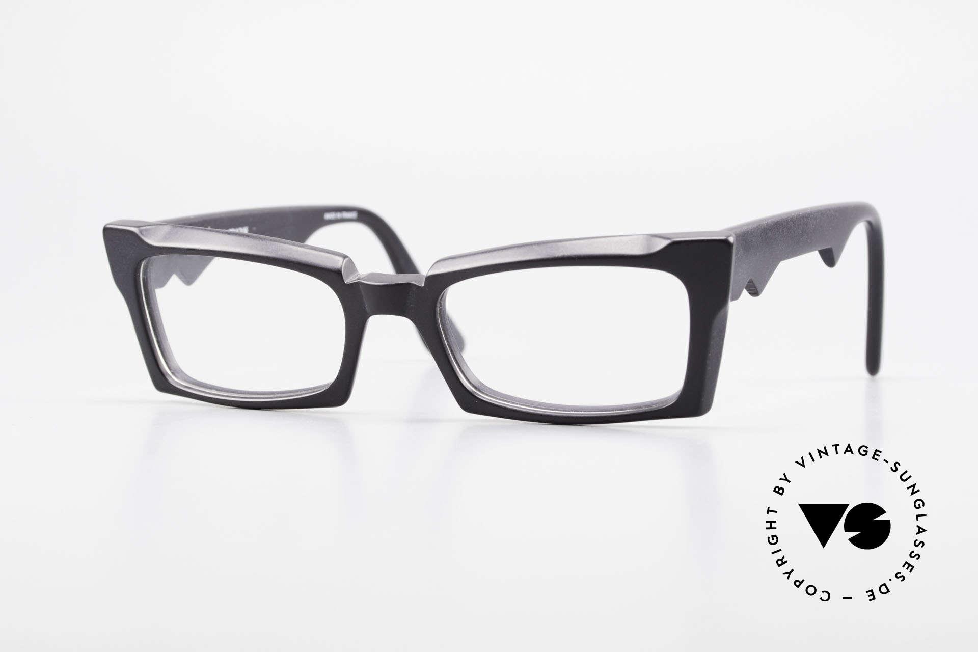 Anne Et Valentin Belphegor Old 80's Glasses True Vintage, vintage glasses by 'Anne Et Valentin', Toulouse, Made for Women