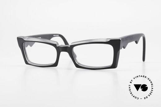 Anne Et Valentin Belphegor Old 80's Glasses True Vintage Details