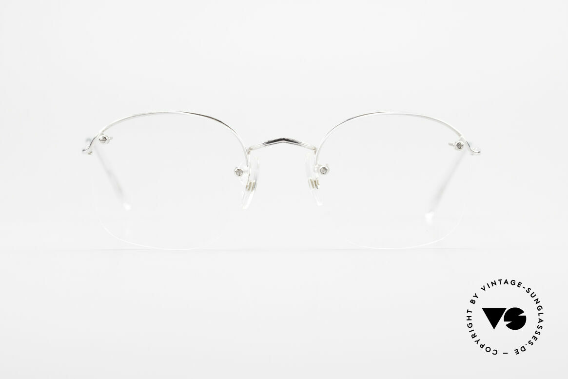 Algha Parklane Rimless 14k Rolled Gold Frame, model Parklane = a classic by Algha, UK Optical, Made for Men