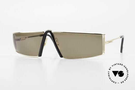Ferrari F19/S Rare 90's Designer Sunglasses Details