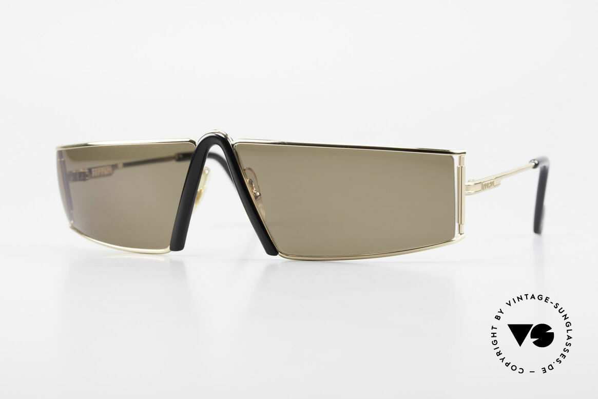 Ferrari F19/S Rare 90's Designer Sunglasses, F19/S: extraordinary vintage sunglasses by Ferrari, Made for Men
