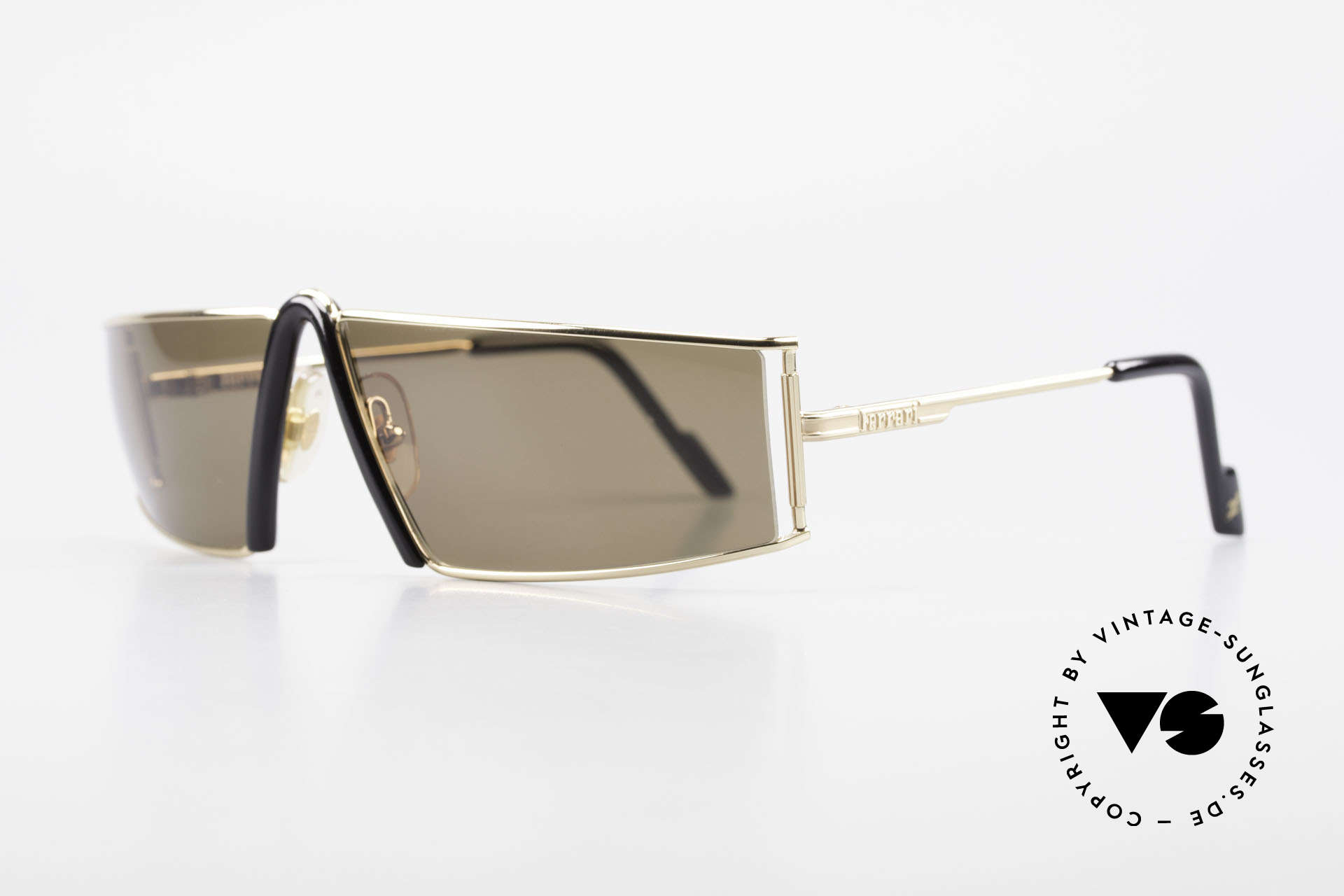 Ferrari F19/S Rare 90's Designer Sunglasses, striking & elegant at the same time (67/12, col 524), Made for Men