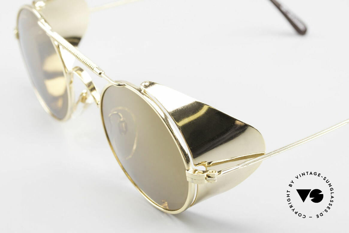 Serious Fun Frogman Steampunk Sunglasses Gold, NO RETRO sunglasses; but a 25 years old ORIGINAL!, Made for Men and Women