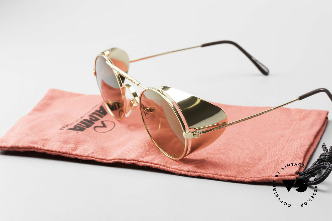 Serious Fun Frogman Steampunk Sunglasses Gold, Size: medium, Made for Men and Women