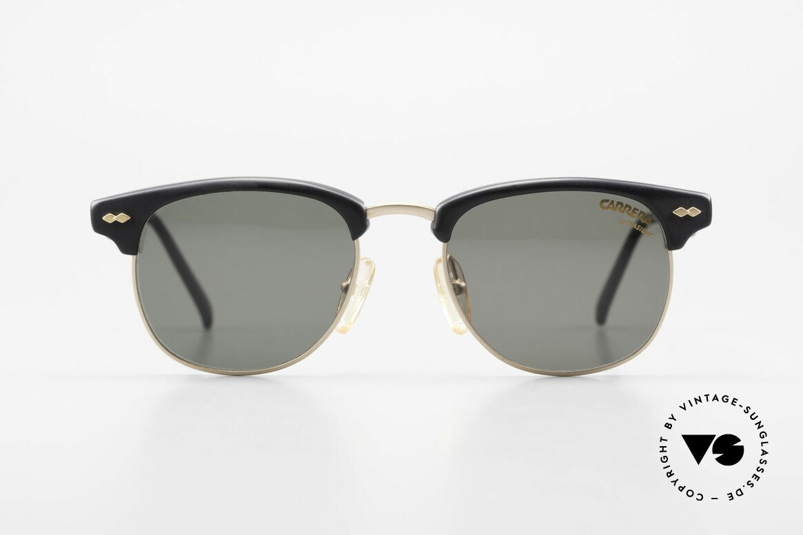 Carrera 5624 Clubmaster Style Sunglasses, a real classic: famous 'panto'-design (simply elegant), Made for Men