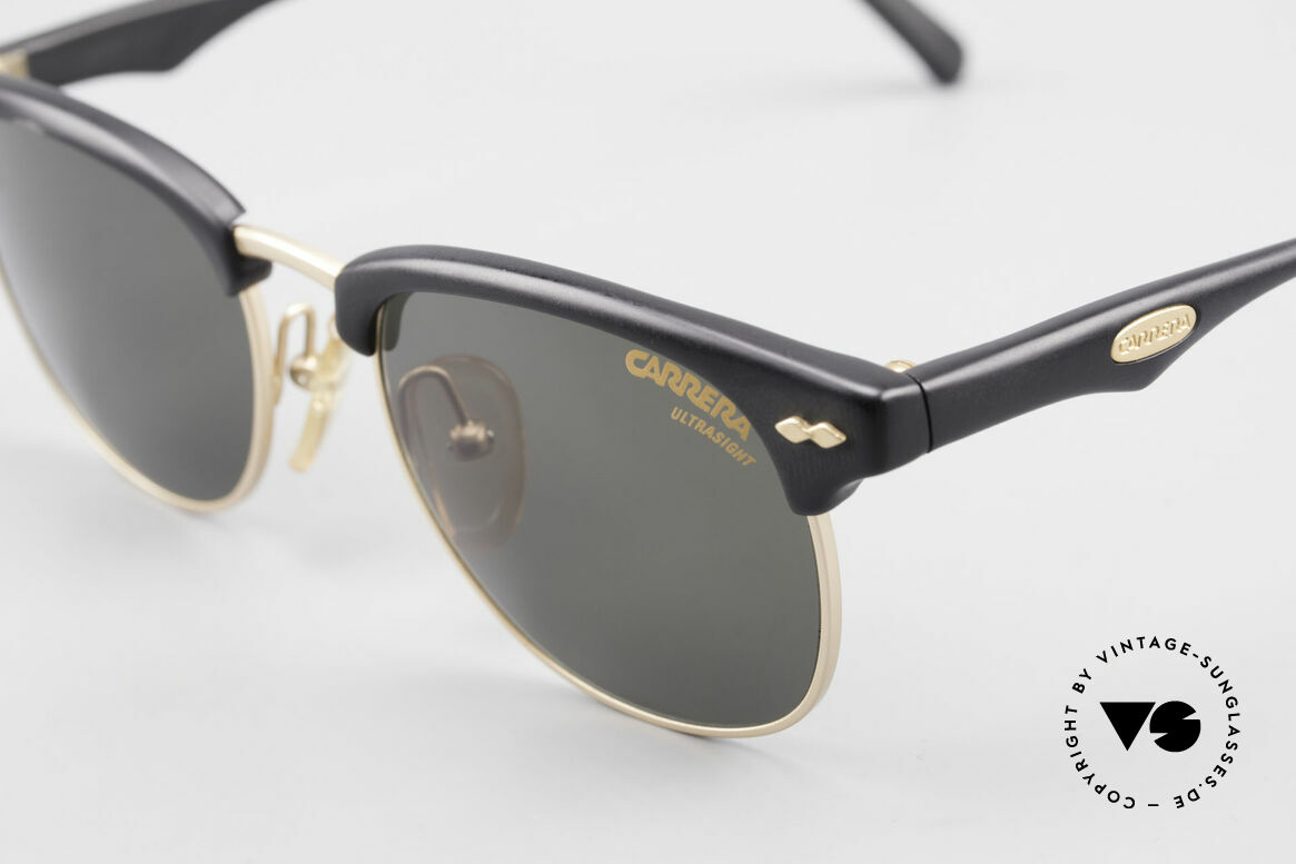 Carrera 5624 Clubmaster Style Sunglasses, unworn (like all our rare vintage CARRERA sunglasses), Made for Men