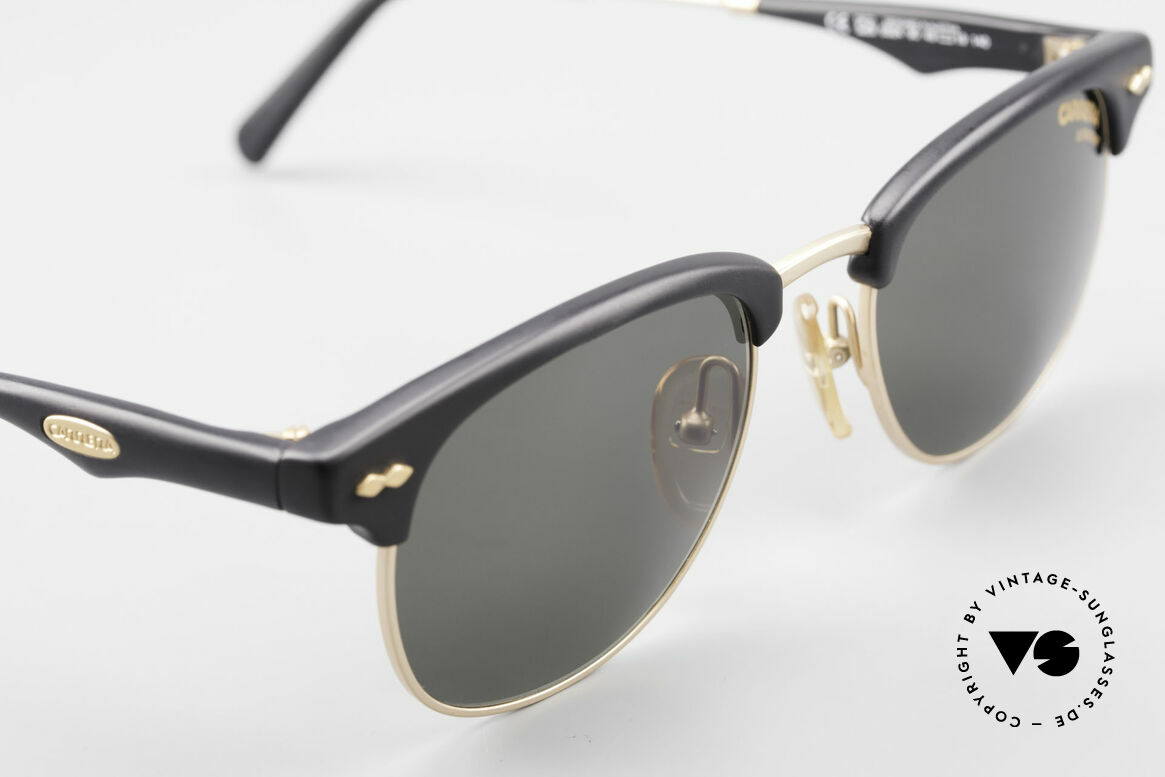 Carrera 5624 Clubmaster Style Sunglasses, NO retro shades, but a unique 25 years old ORIGINAL, Made for Men
