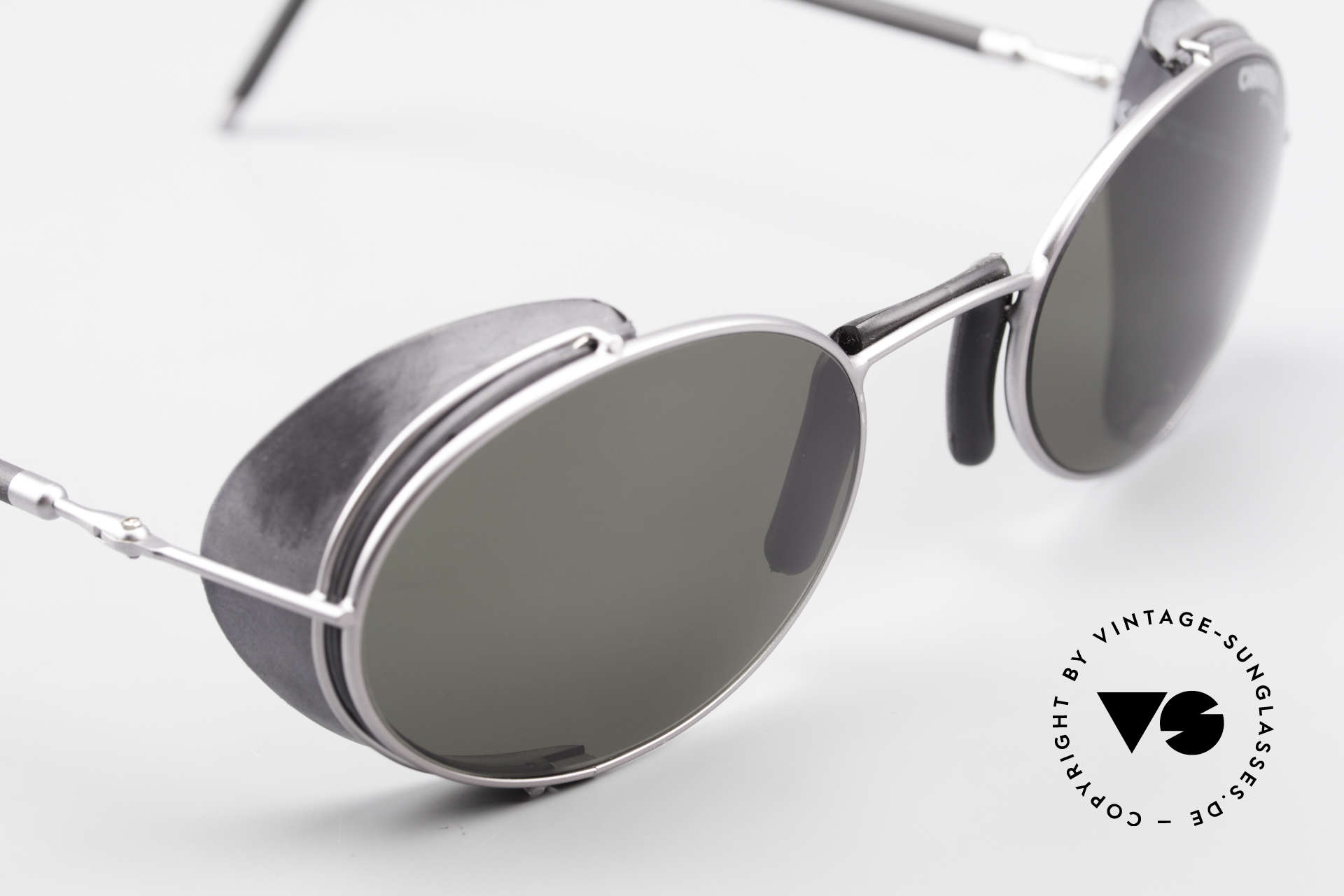 Carrera 5580 90's Sportsglasses Steampunk, removable side shields (120mm width = a SMALL size!), Made for Men and Women