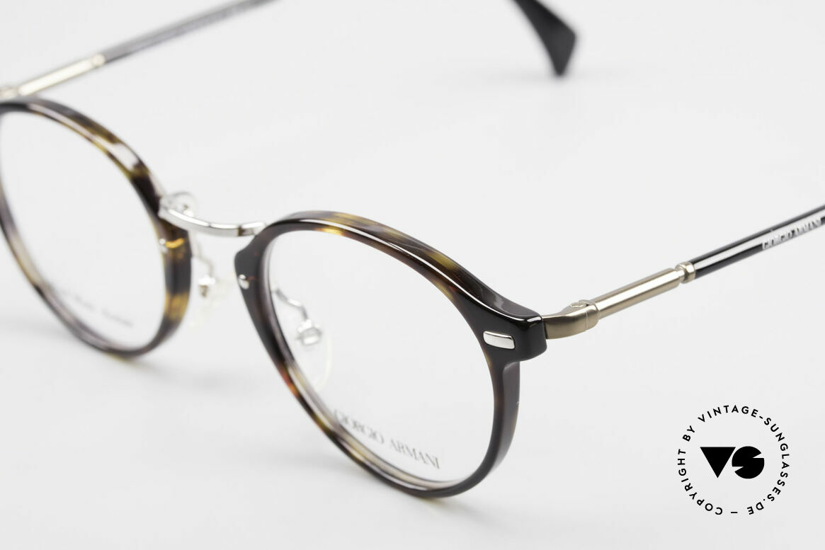 Giorgio Armani 828 Round Panto Eyeglass-Frame, unworn, NOS, one of a kind and outstanding quality, Made for Men and Women