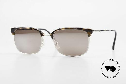 Giorgio Armani 788 Square Panto Sunglasses Men Details