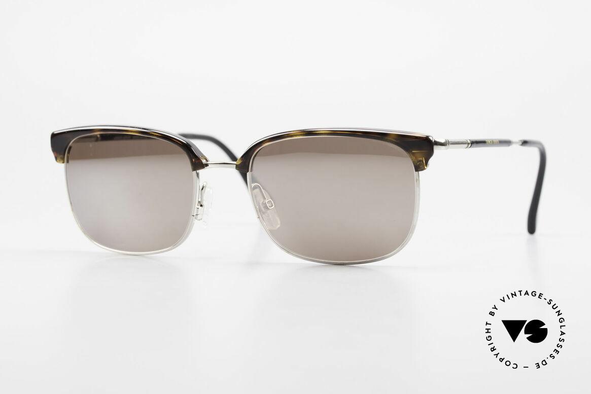 Giorgio Armani 788 Square Panto Sunglasses Men, timeless GIORGIO ARMANI vintage designer shades, Made for Men