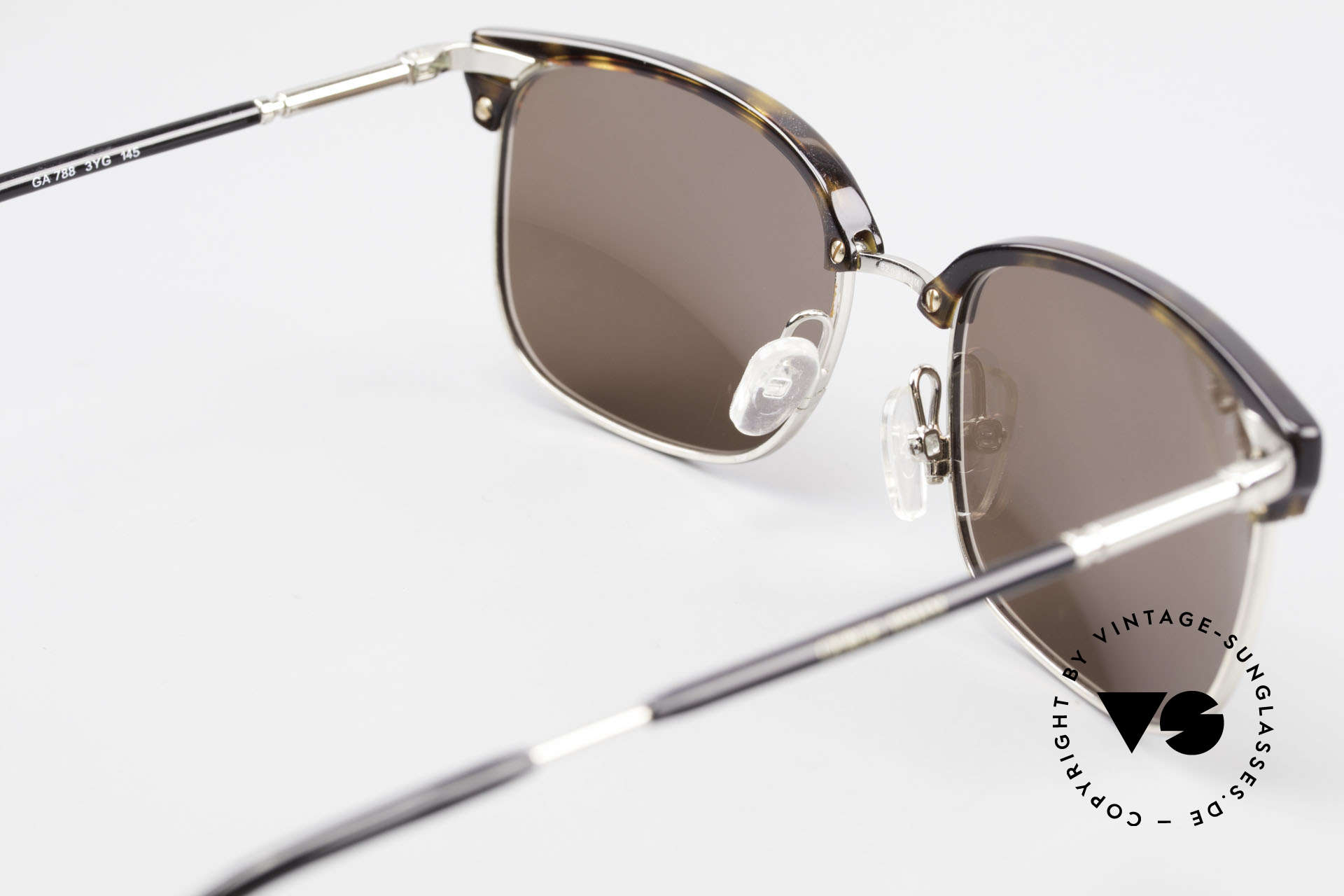 Giorgio Armani 788 Square Panto Sunglasses Men, frame can be glazed with optical lenses of any kind, Made for Men