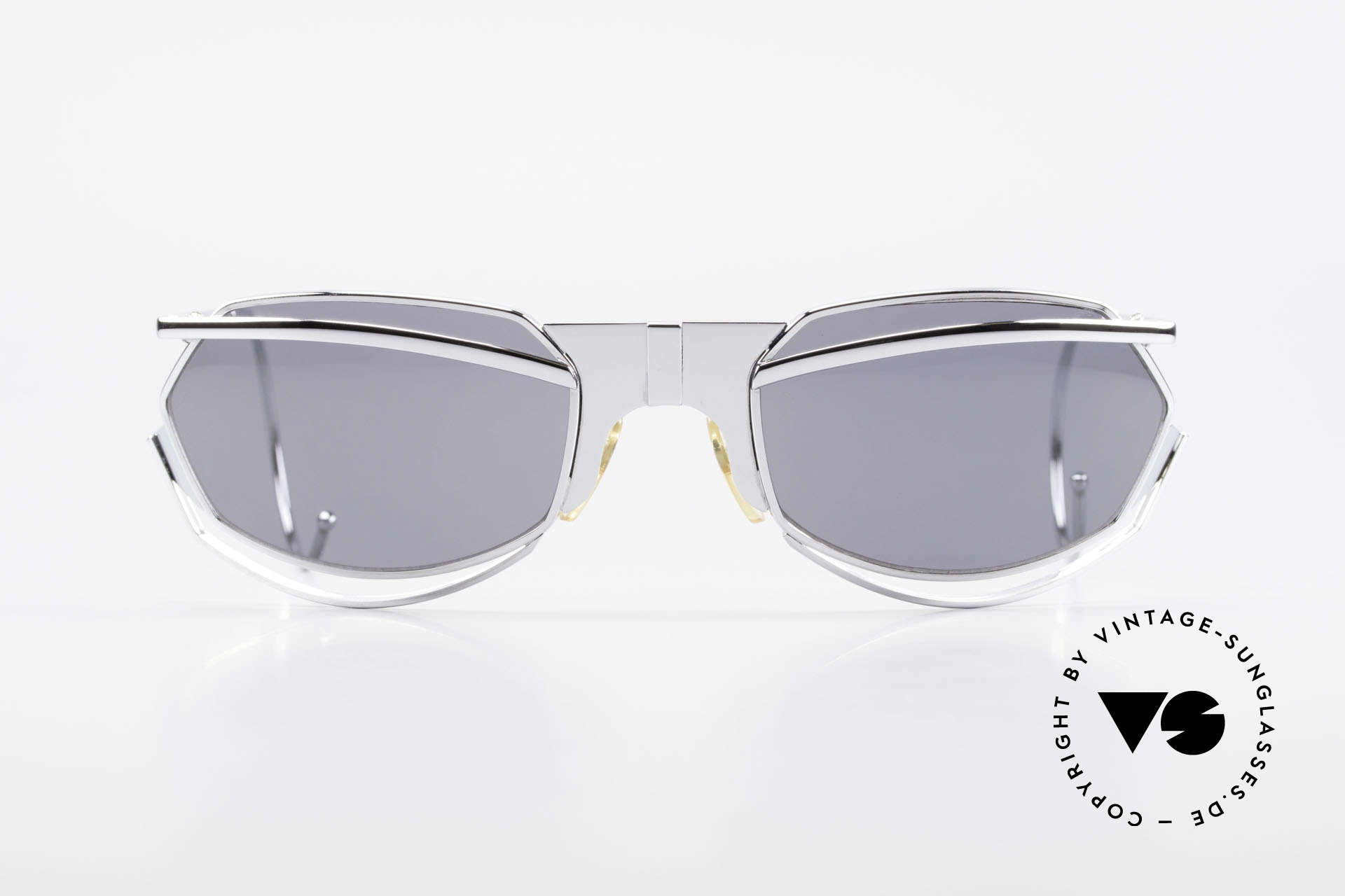 IDC G1 Folding Large Folding Sunglasses 90's, precious limited edition by Marithe & Francois Girbaud, Made for Men