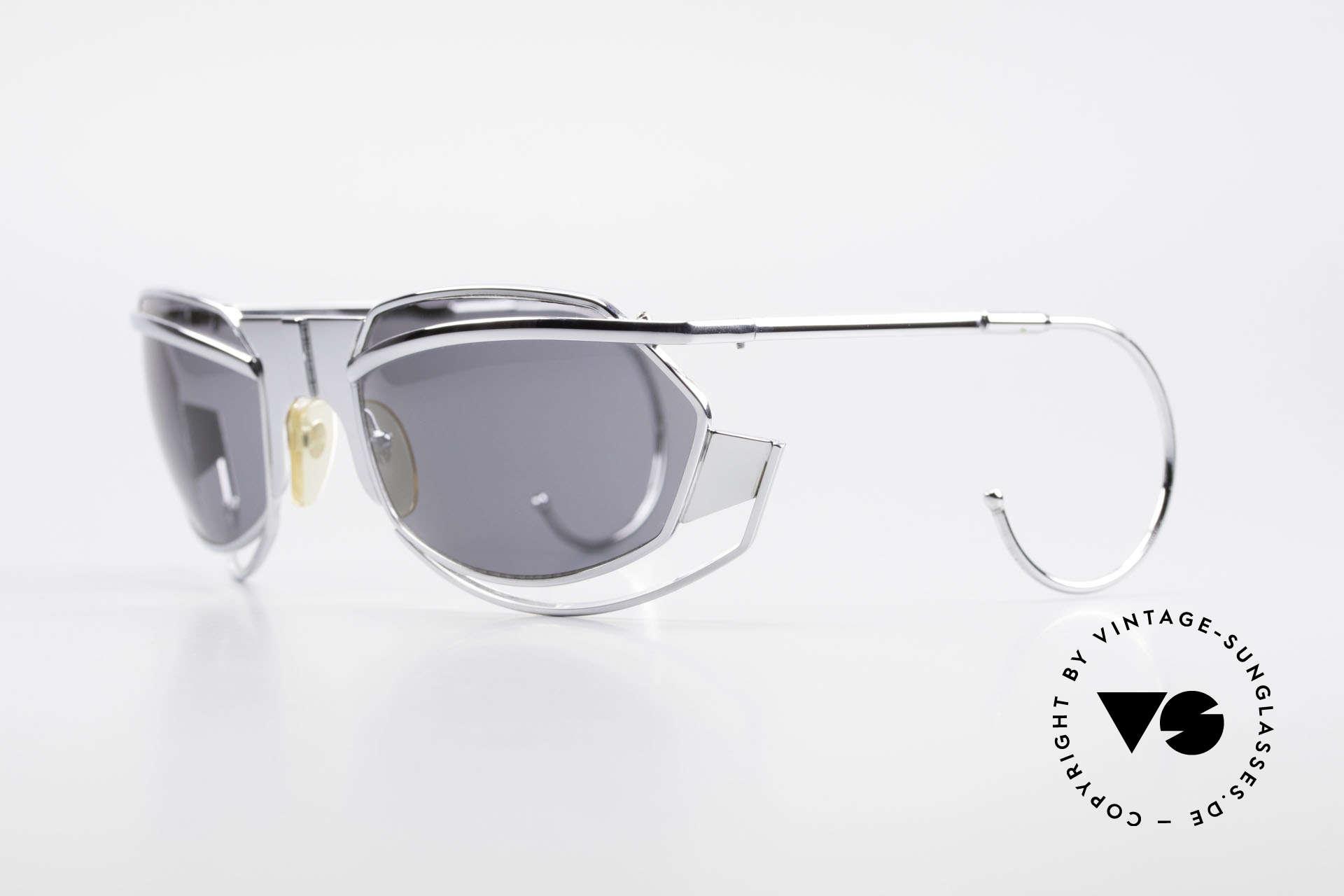 IDC G1 Folding Large Folding Sunglasses 90's, massive metal frame (monolithic); top craftsmanship, Made for Men