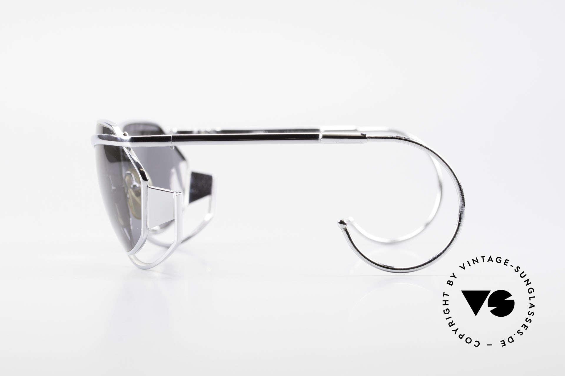 IDC G1 Folding Large Folding Sunglasses 90's, with ingenious foldable bridge & flexible sport temples, Made for Men