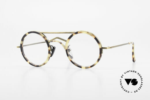 Gianni Versace 620 Round 90's Vintage Eyeglasses Details