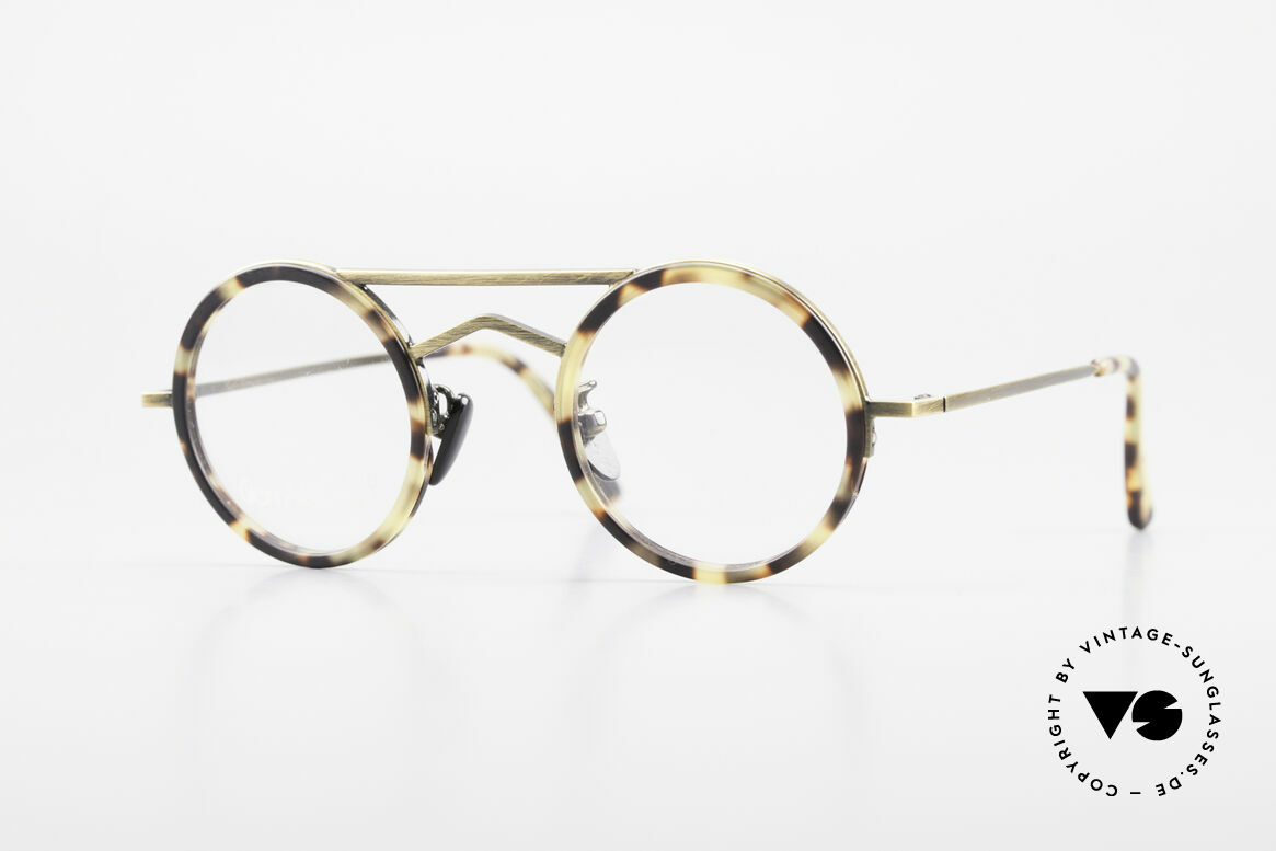 Gianni Versace 620 Round 90's Vintage Eyeglasses, small and round vintage Gianni VERSACE glasses, Made for Men and Women