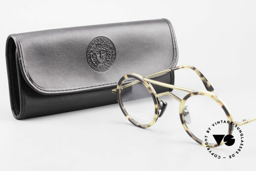 Gianni Versace 620 Round 90's Vintage Eyeglasses, NO RETRO FRAME, but a rare vintage 90's unicum, Made for Men and Women