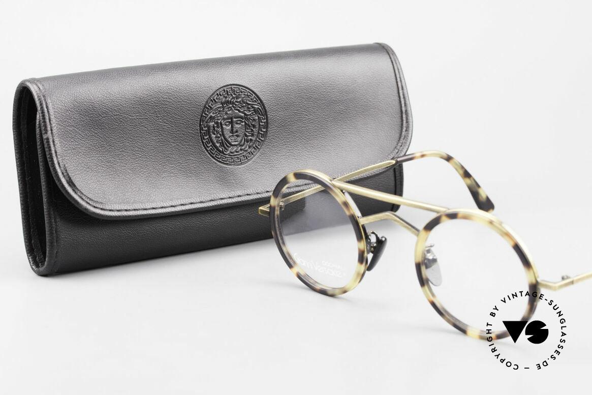 Gianni Versace 620 Round 90's Vintage Eyeglasses