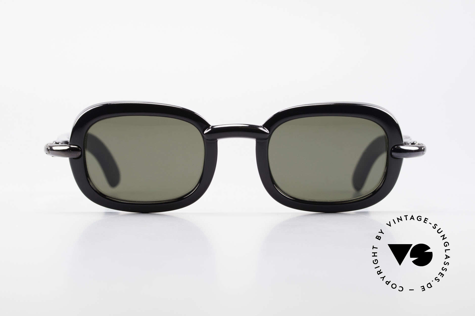Karl Lagerfeld 4117 Rare 90's Ladies Sunglasses, 1990's Lagerfeld creations were limited-lot productions, Made for Women