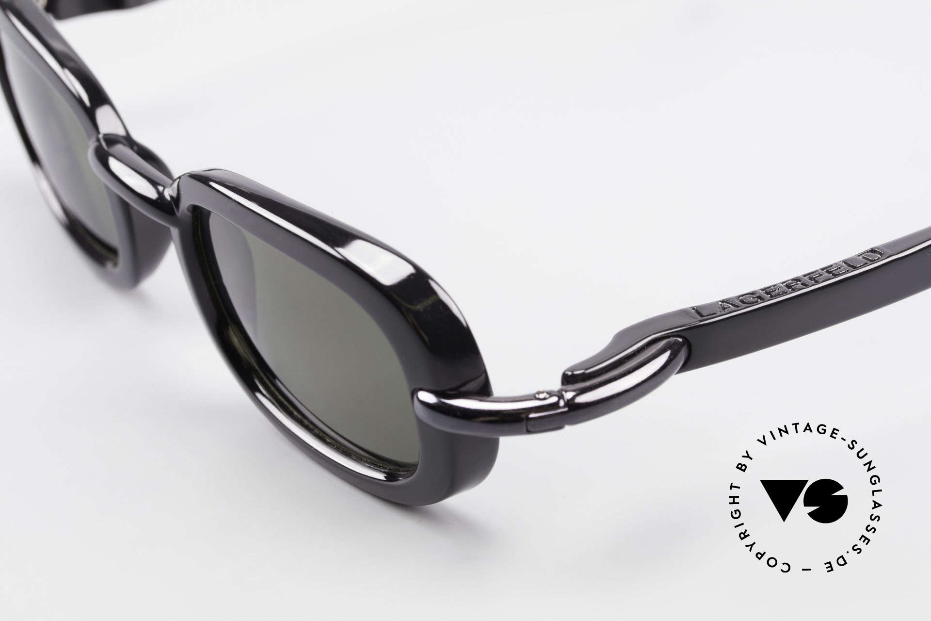 Karl Lagerfeld 4117 Rare 90's Ladies Sunglasses, still unworn (just like all our RARE vintage sunglasses), Made for Women