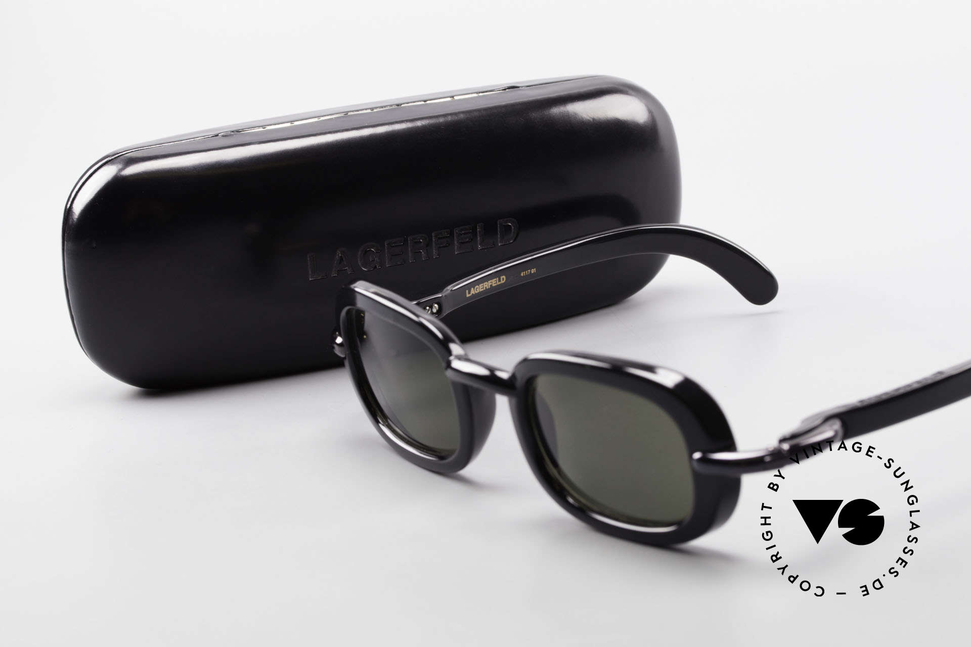 Karl Lagerfeld 4117 Rare 90's Ladies Sunglasses, Size: large, Made for Women