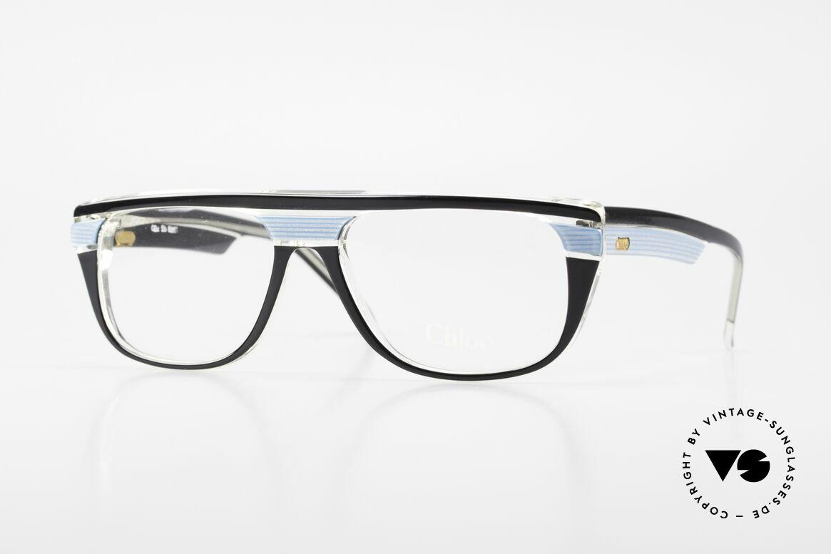 Chloe 8361 Rare Old 80's Vintage Glasses, rare vintage designer eyeglasses by CHLOE, Made for Men and Women