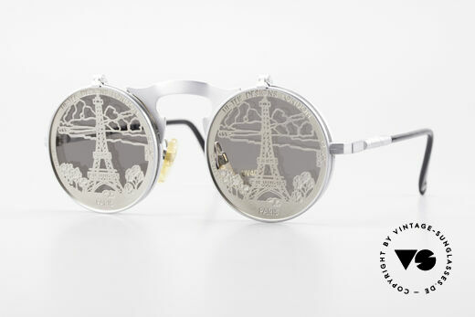 Hi Tek Paris Flip Up Sunglasses Steampunk Details