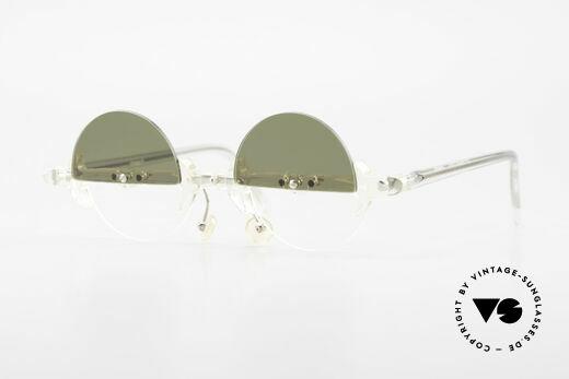 Design Maske Berlin - Omega With Rotatable Sun Lenses Details