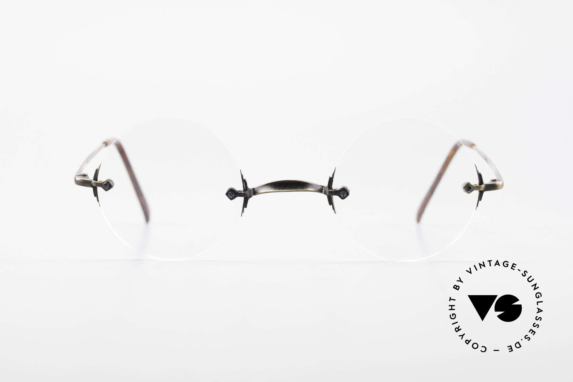 Bonneville by Brendel Timeless Plain Rimless Specs, classic, plain rimless eyeglasses, unisex style, Made for Men and Women