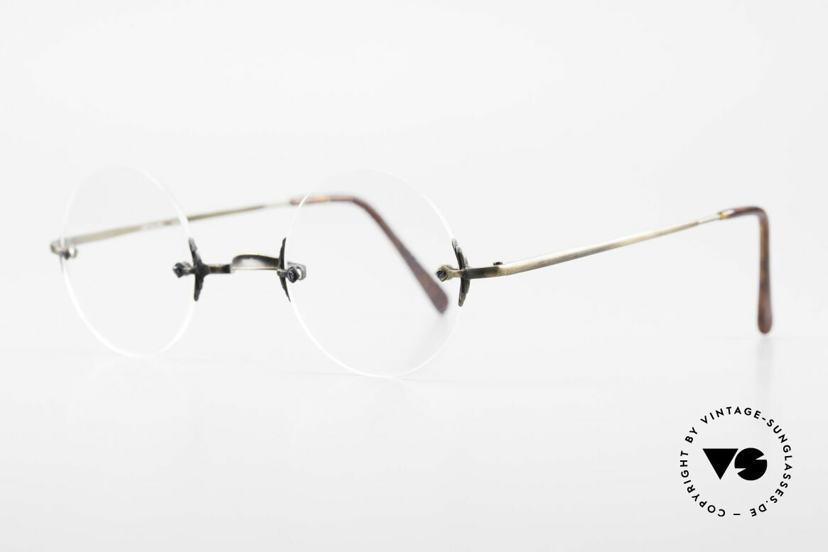 Bonneville by Brendel Timeless Plain Rimless Specs