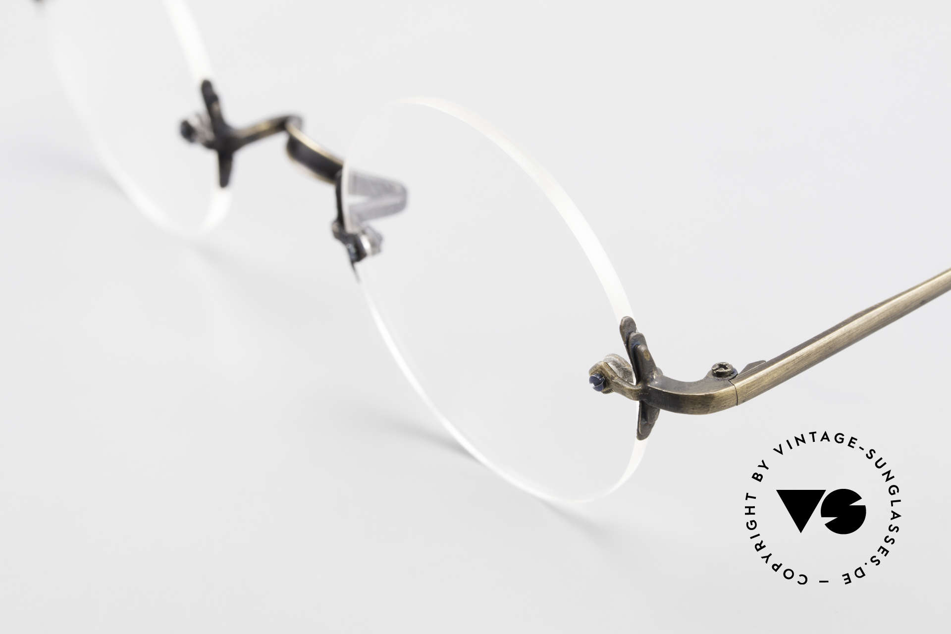 Bonneville by Brendel Timeless Plain Rimless Specs, top-notch craftsmanship (made in W. Germany), Made for Men and Women